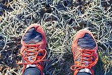 über,rennen,Schuh,Läufer,Kälte,Ansicht,Kleidung,Gras