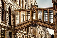 Tschechien, Prag, historischer Skywalk