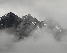 Norwegen, Jotunheimen im Nebel